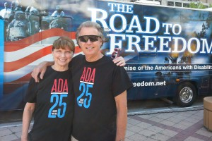 Americans with DIsability Act legacy bus tour