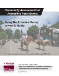 cover- CAARE Using the Attendee Survey guide