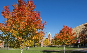 Autumn at the University of Montana