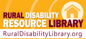 logo of the rural disability resource library website