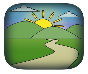 "App icon for RTC:Rural's ""Health My Way"" app, which is currently under development"
