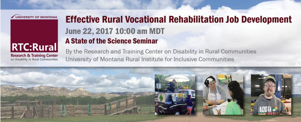 banner image for event featuring RTC:Rural logo, background image a of a rural pasture and three images of people at work