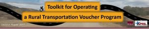 Toolkit for operating a rural transportation voucher program