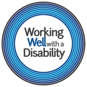 Working Well with a Disability logo