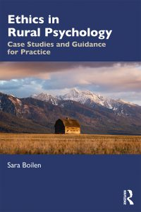 cover of Ethics in Rural Psychology text book