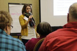 RTC:Rural staff member presenting at a conference