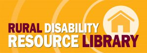 Rural Disability Resource Library logo