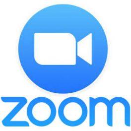 zoom logo camera